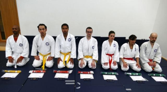 New aikido grades