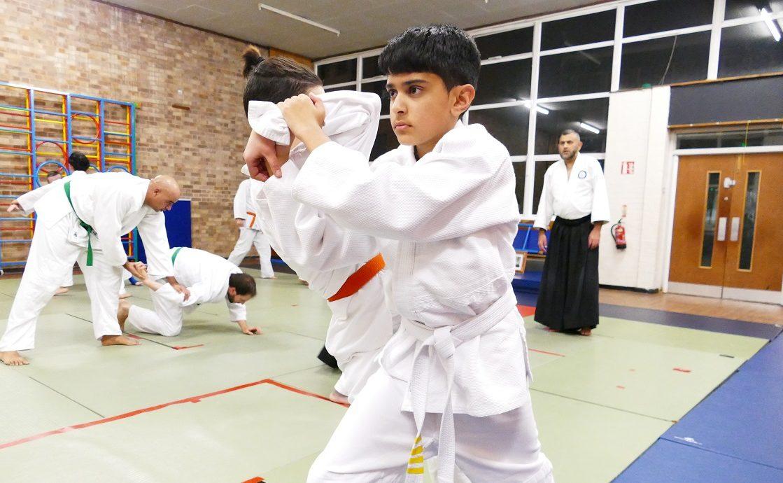 kids aikido practice