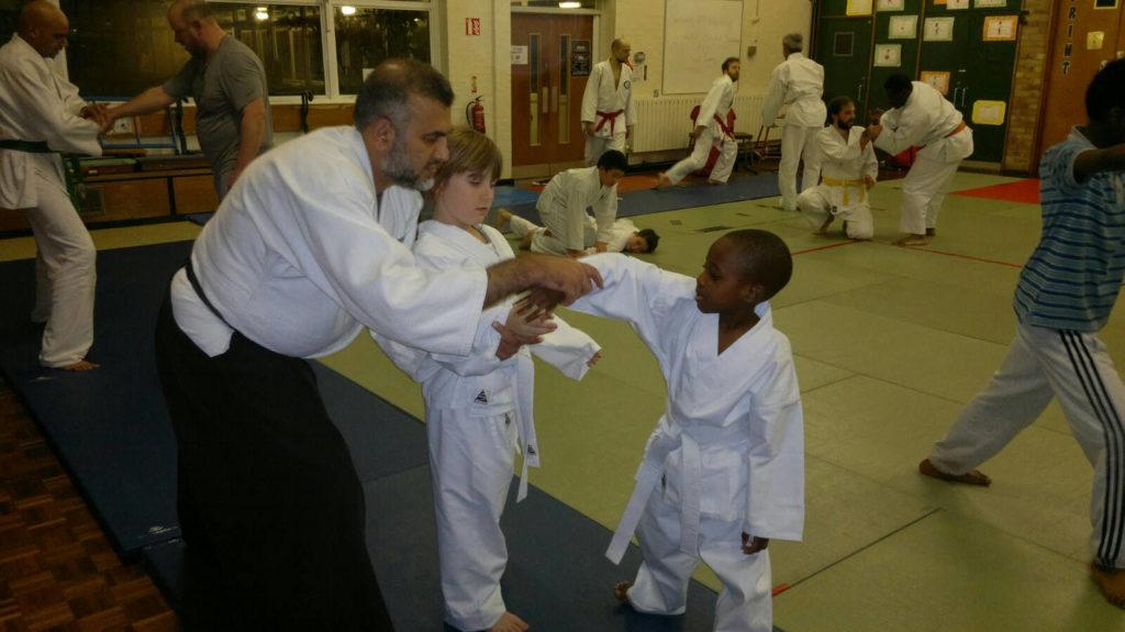 teaching aikido to kids