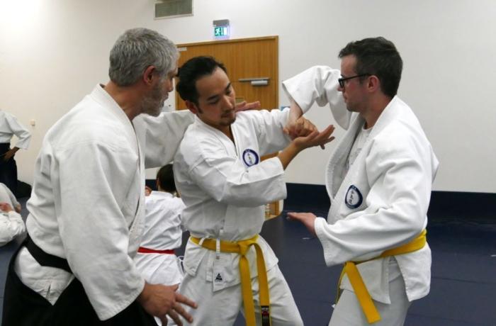 Aikido Class teaching