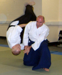 Sensei Kevin Christie 2005 at the National Indoor Arena