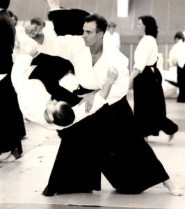 Sensei Kevin Christie 1994 at the old Birmingham Sports Centre