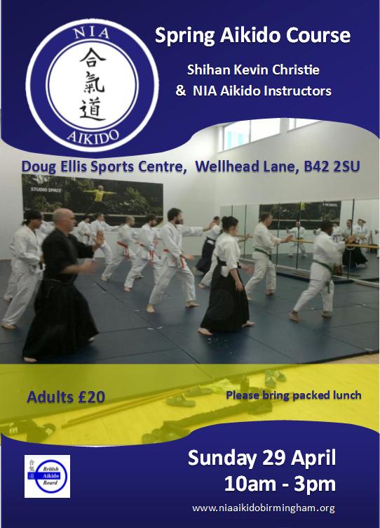 2018 NIA Aikido Spring Course