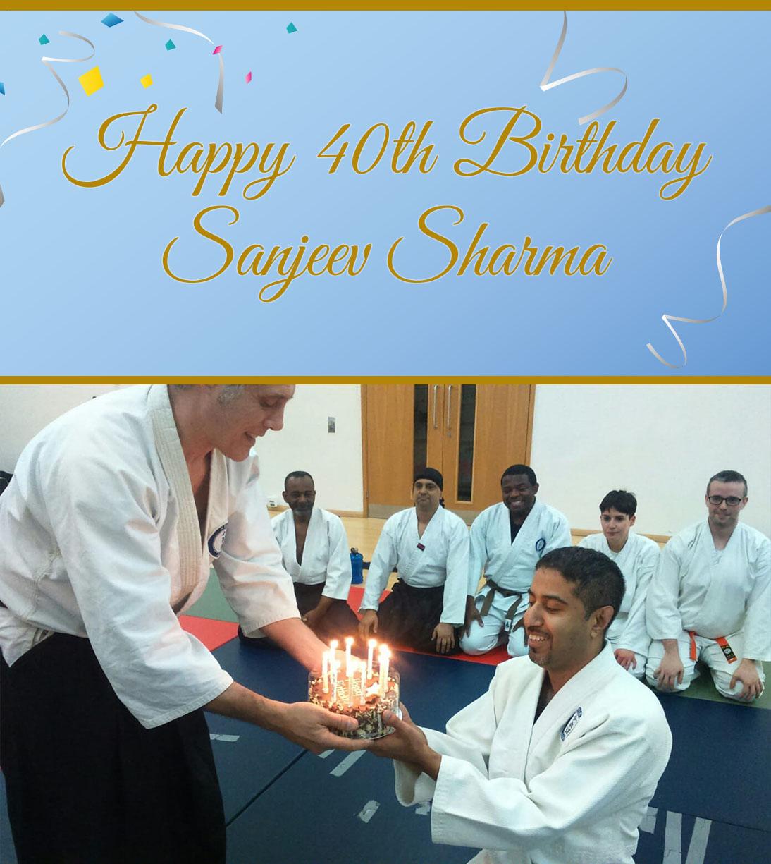 Happy 40th Birthday Sanjeev Sharma!