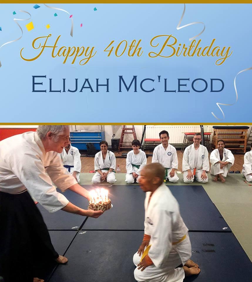 Happy 40th Birthday Elijah!