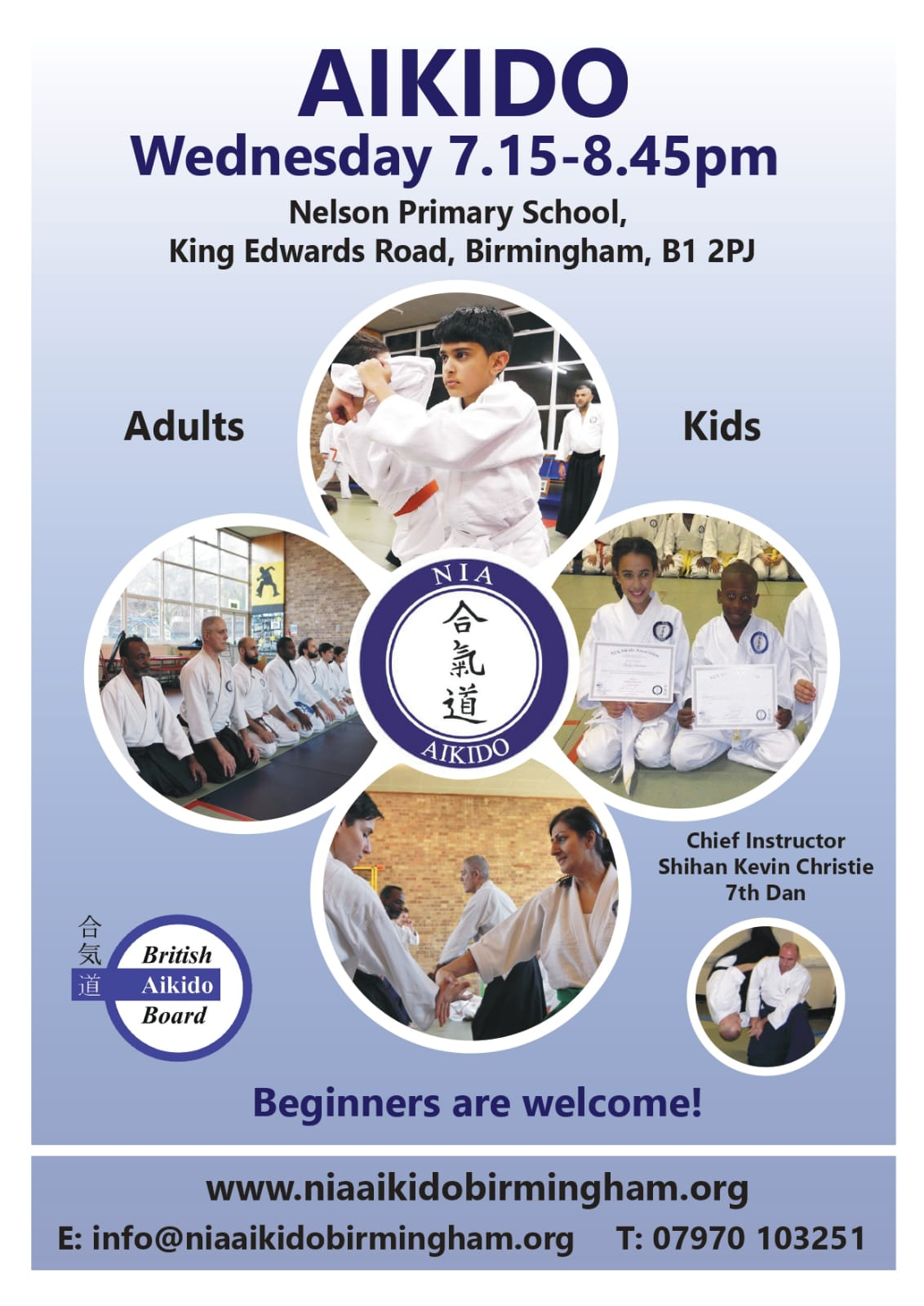 Welcome to NIA Aikido Birmingham