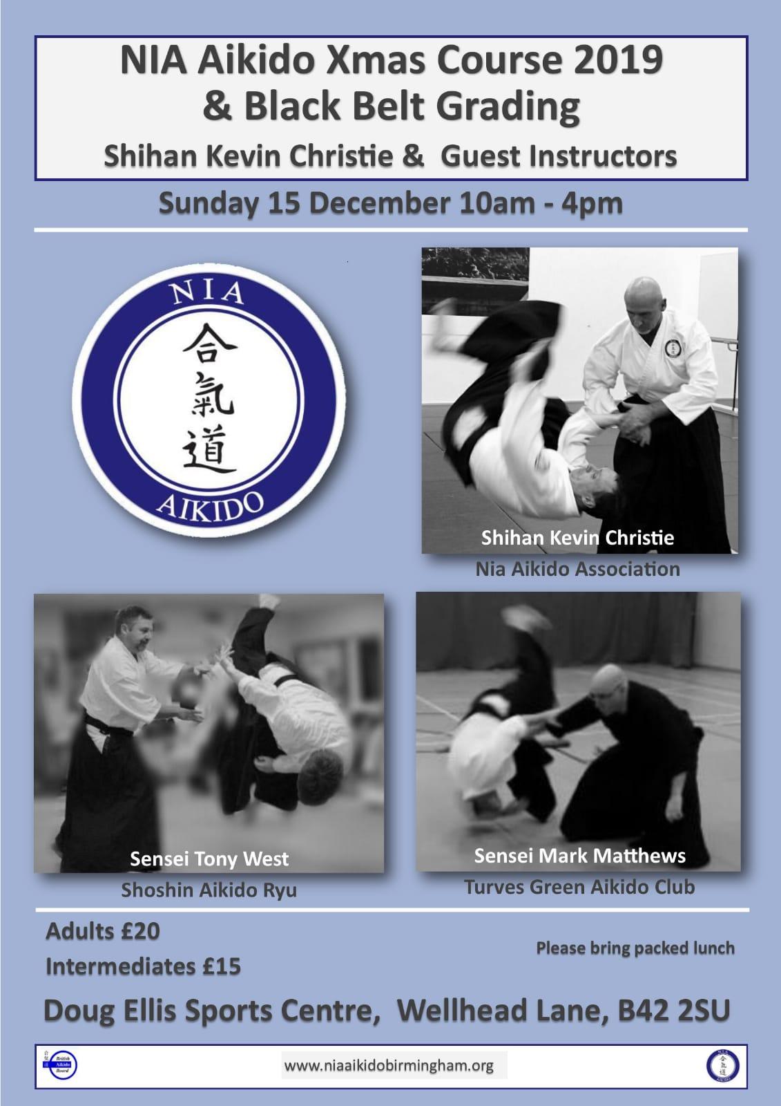 NIA Aikido Xmas Course 2019