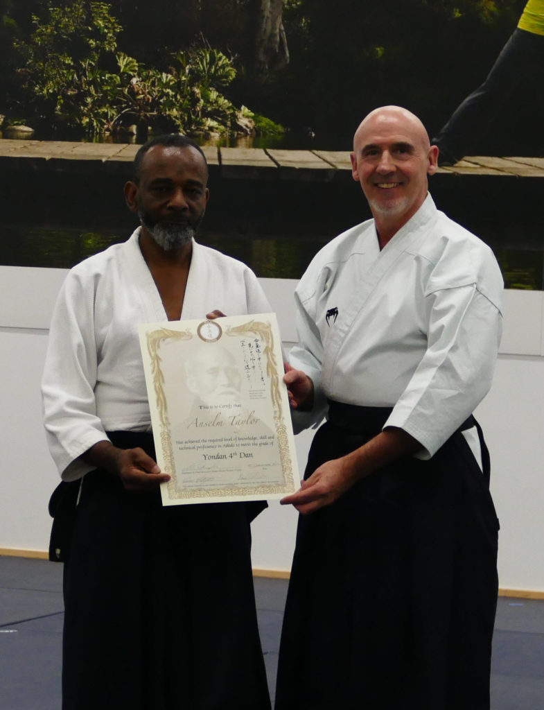 Congratulations to Sensei Taylor