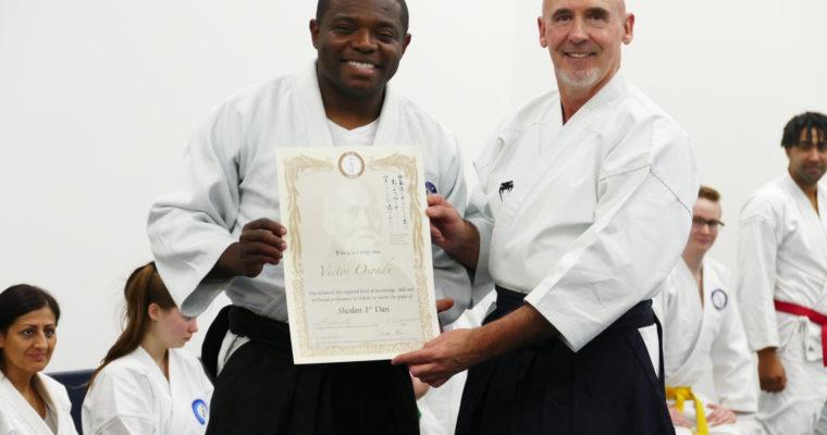 Congratulations to Sensei Osondu