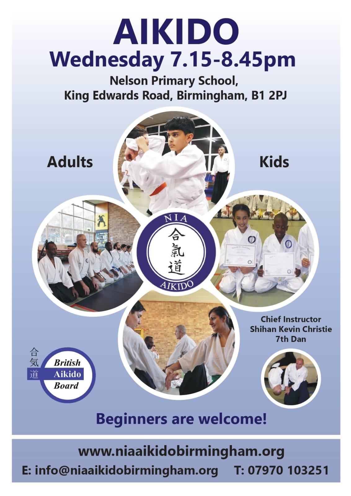 Welcome to NIA Aikido Birmingham